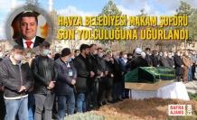 Havza Belediyesi Makam Şoförü Son Yolculuğuna Uğurlandı
