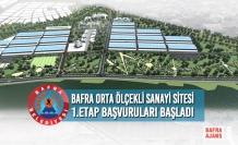 Bafra Orta Ölçekli Sanayi Sitesi 1.Etap Başvuruları Başladı