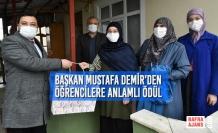 Başkan Demir'den Öğrencilere Anlamlı Ödül