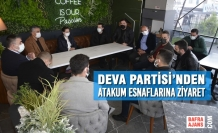 Deva Partisi'nden Atakum Esnaflarına Ziyaret
