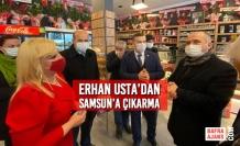 Erhan Usta'dan Samsun'a Çıkarma