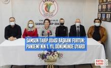 Samsun Tabip Odası'ndan Pandemi'nin 1. Yılı ve 14 Mart Basın Açıklaması
