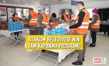 Atakum Belediyesi'nin Tam Kapanma Programı