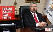 Başkan Aksu: Biz Hizmet, Muhalefet Yalan Üretiyor