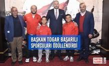 Başkan Togar Başarılı Sporcuları Ödüllendirdi