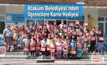 Atakum Belediyesi'nden Öğrencilere Karne Hediyesi