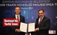 Samsun'da Akıllı Şehir Trafik Güvenliği Projesi Hayata Geçiyor