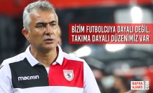 """Teknik Direktörü Altıparmak; """"Bizim Futbolcuya Dayalı Değil, Takıma Dayalı Düzenimiz Var"""""""