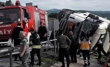 Kavak'ta Trafik Kazası; 1 Kişi Yaralı