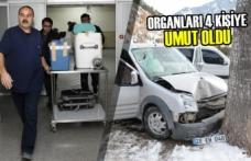 Bağışlanan Organları 4 Kişiye Umut Oldu