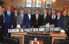 Samsun AK Parti'den MHP'ye Ziyaret