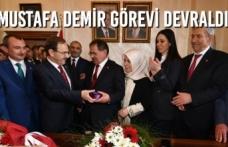 Başkan Mustafa Demir; Görevi Devraldı