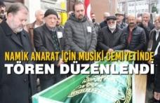 Namık Anarat İçin Musiki Cemiyetinde Tören Düzenlendi