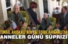 İsmail Ahıskalı'nın Eşi Edibe Ahıskalı'ya Anneler Günü Süprizi