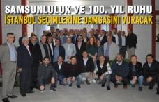 Karapıçak, İstanbul Samsun Dernekleri Federasyonu'nu Ziyaret Etti