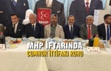 MHP İftar Programına Yağmura Rağmen Yoğun Katılım Oldu