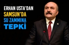Usta'dan Samsun'da Su Zammına İlişkin Bildiri