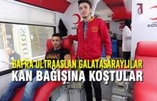 Bafra Ultraaslan Galatasaraylılar Kan Bağışına Koştular