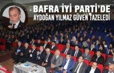Bafra İyi Parti'de Aydoğan Yılmaz Güven Tazeledi