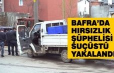 Bafra'da Hırsızlık Şüphelisi Suçüstü Yakalandı