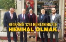 MHP Samsun'da Muhtar Buluşmaları