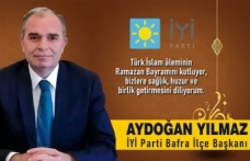 Aydoğan Yılmaz'dan Ramazan Bayramı Mesajı