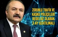"""Erhan USTA: """"Zorunlu Trafik Ve Kasko Poliçeleri Bedelsiz Olarak 3 Ay Uzatılmalı"""""""