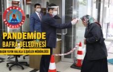 Pandemide Bafra Belediyesi - Basın Yayın Halkla İlişkiler Müdürlüğü