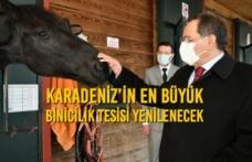 Karadeniz'in En Büyük Binicilik Tesisi Yenilenecek