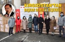 Kırgızistan'tan Başkan Demir'e Teşekkür
