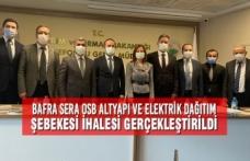 Bafra Tarıma Dayalı İhtisas Sera OSB Altyapı ve Elektrik Dağıtım Şebekesi İhalesi Gerçekleştirildi