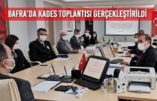 Bafra'da KADES Toplantısı Gerçekleştirildi