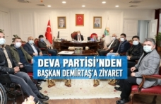 Deva Partisi'nden Başkan Demirtaş'a Ziyaret