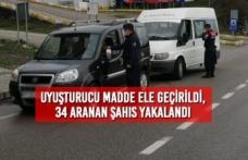 Samsun'da Uyuşturucu Madde Ele Geçirildi, 34 Aranan Şahıs Yakalandı