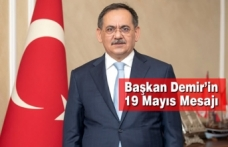 Başkan Demir'in 19 Mayıs Mesajı