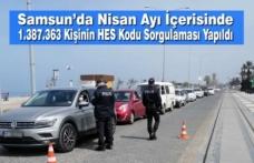 Samsun'da Nisan Ayı İçerisinde 1.387.363 Kişinin HES Kodu Sorgulaması Yapıldı