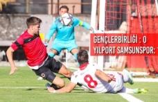 Gençlerbirliği : 0 - Yılport Samsunspor: 1