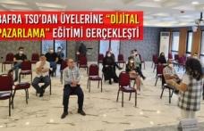 """Bafra TSO'dan Üyelerine """"Dijital Pazarlama"""" Eğitimi Gerçekleşti"""