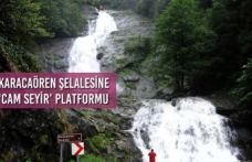 Karacaören Şelalesine 'Cam Seyir' Platformu