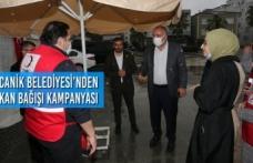 Canik Belediyesi'nden Kan Bağışı Kampanyası