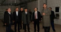 Başkan Şahin, Karadeniz'in En Modern Mezbahanesi'nde