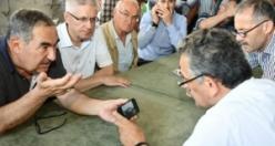 Vali Kaymak, Terme'de Meydana Gelen Sel Felaketini Yerinde İnceledi