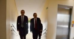 Bafra Kaymakamı Adanur'a 'Hayırlı Olsun' Ziyaretleri