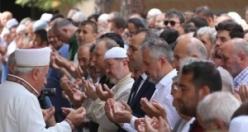 Bafra'da Mursi için Gıyabi Cenaze Namazı Kılındı