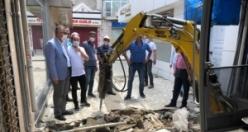 Bafra Belediyesi Bukez De Bedesten İçin Düğmeye Bastı