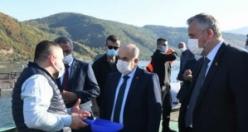 Vali Dağlı, Bafra'da İncelemelerde Bulundu