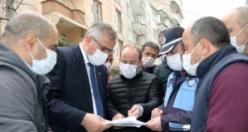 Bafra'da Pandemiye Rağmen Hizmete Devam