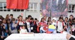 23 Nisan'ın Kolombiyalı Öğrencileri OMÜ Vakfı Kolejinde