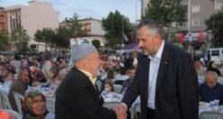 Bafra Belediyesi Vatandaşlarla İftarda Buluştu