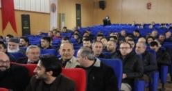 """Bafra'da """"Ömrünü Ümmete Adayan Erbakan"""" Konferansı"""
